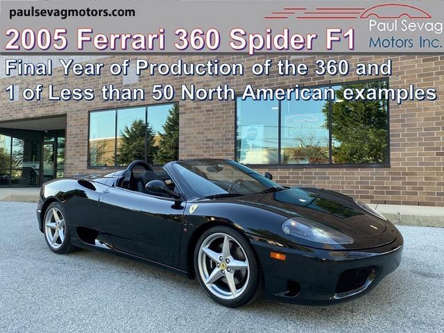 used 2005 Ferrari 360 Spider car, priced at $104,990