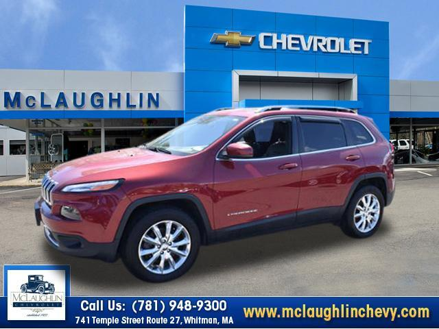 used 2015 Jeep Cherokee car, priced at $18,980
