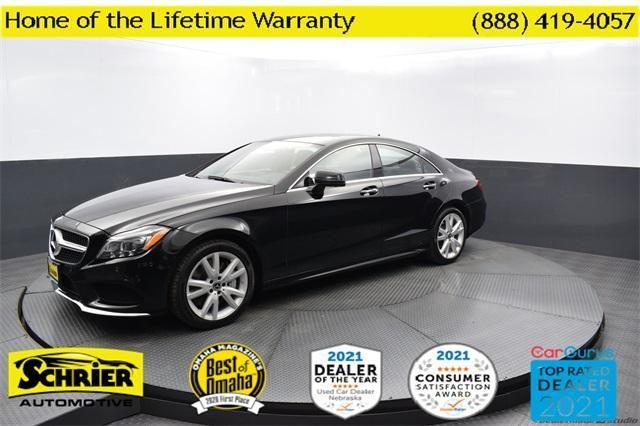 used 2017 Mercedes-Benz CLS 550 car, priced at $47,831