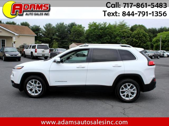 used 2014 Jeep Cherokee car, priced at $15,995