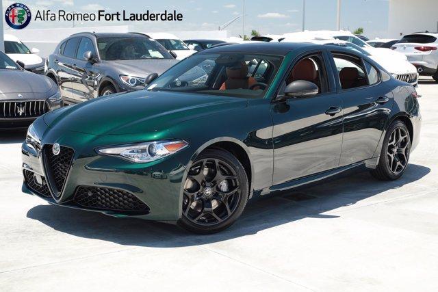 new 2021 Alfa Romeo Giulia car, priced at $47,690