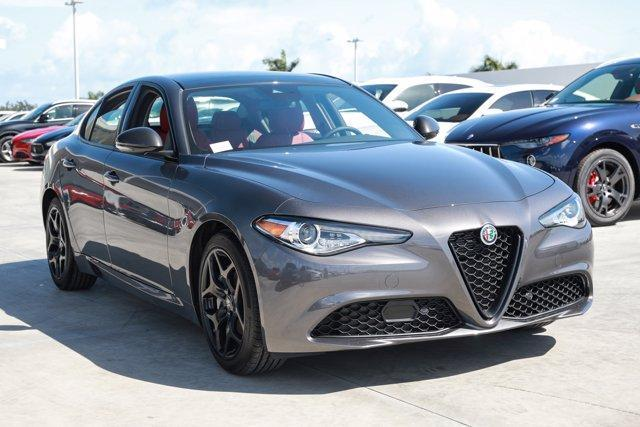 new 2021 Alfa Romeo Giulia car, priced at $42,845