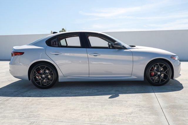 new 2021 Alfa Romeo Giulia car, priced at $46,350