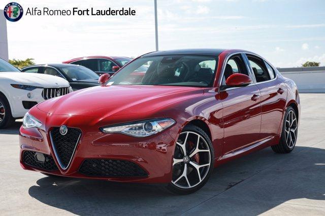 new 2021 Alfa Romeo Giulia car, priced at $46,940