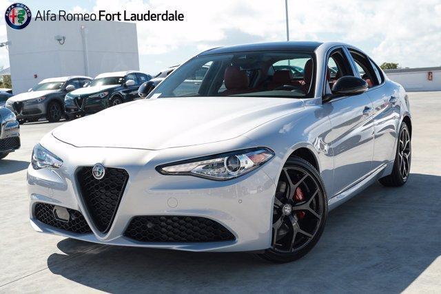 new 2021 Alfa Romeo Giulia car, priced at $48,490