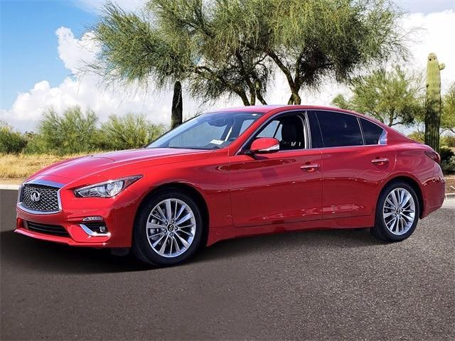 new 2021 INFINITI Q50 car, priced at $44,943