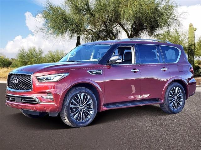 new 2021 INFINITI QX80 car, priced at $74,648