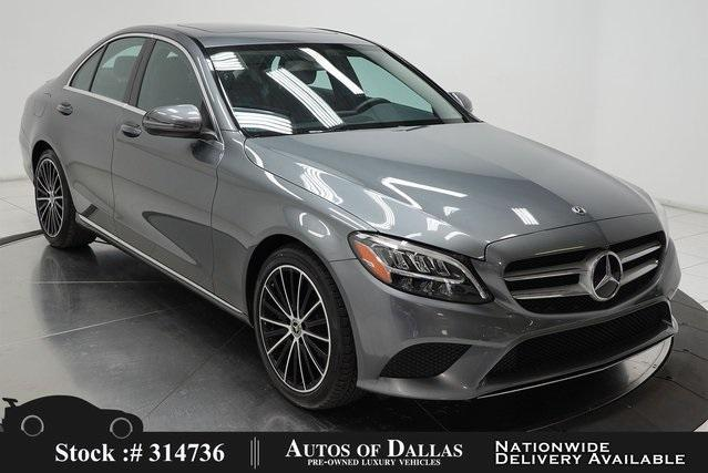 used 2019 Mercedes-Benz C-Class car, priced at $32,490