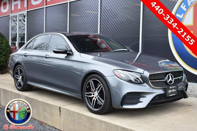 used 2018 Mercedes-Benz AMG E 43 car, priced at $52,113