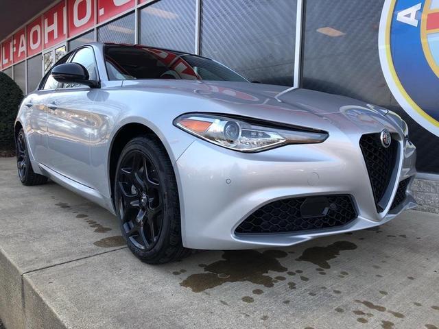 new 2021 Alfa Romeo Giulia car, priced at $43,651