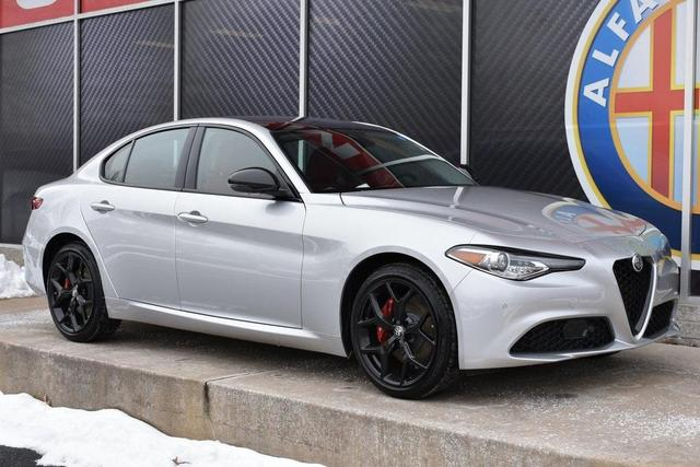 new 2021 Alfa Romeo Giulia car, priced at $47,741