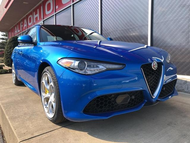 new 2021 Alfa Romeo Giulia car, priced at $46,953