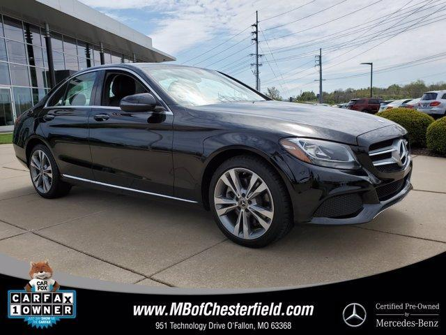 used 2017 Mercedes-Benz C-Class car, priced at $29,000