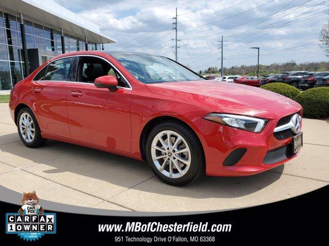 used 2020 Mercedes-Benz A-Class car, priced at $33,800