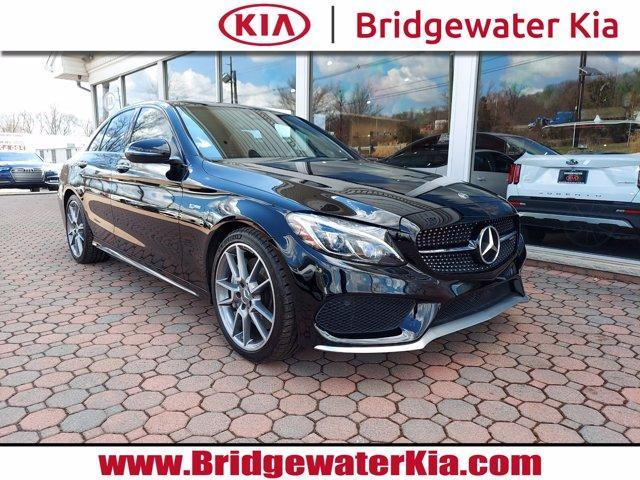 used 2018 Mercedes-Benz AMG C 43 car, priced at $36,800