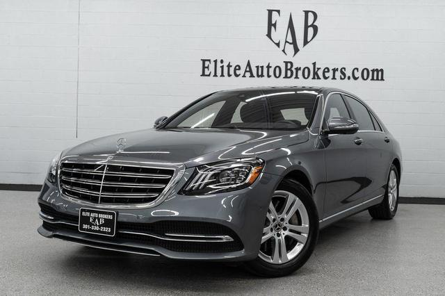 used 2018 Mercedes-Benz S-Class car, priced at $63,500