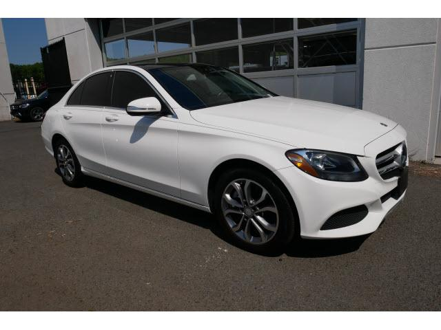 used 2015 Mercedes-Benz C-Class car, priced at $23,995