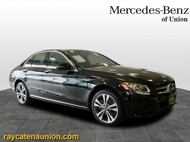 used 2018 Mercedes-Benz C-Class car, priced at $35,995