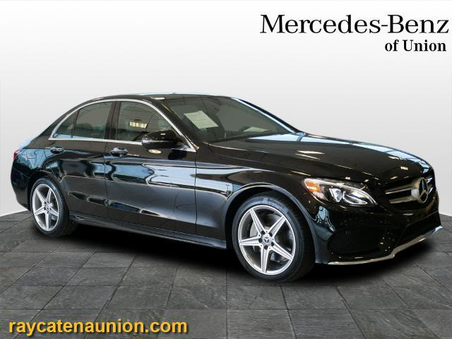 used 2018 Mercedes-Benz C-Class car, priced at $34,495