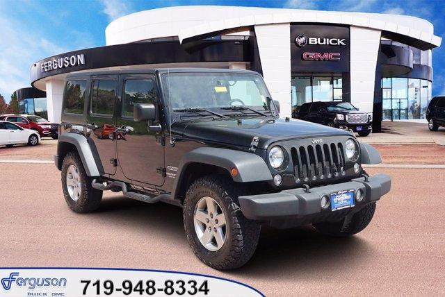 used 2015 Jeep Wrangler Unlimited car, priced at $32,240