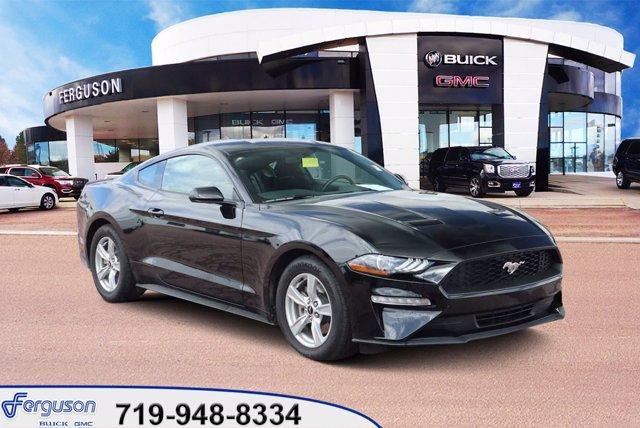 used 2020 Ford Mustang car, priced at $30,185