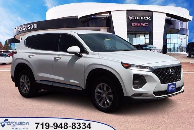 used 2020 Hyundai Santa Fe car, priced at $30,340
