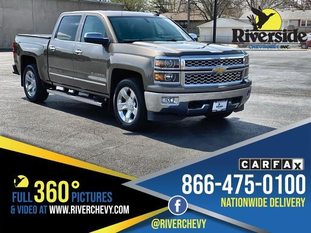 used 2015 Chevrolet Silverado 1500 car, priced at $34,999