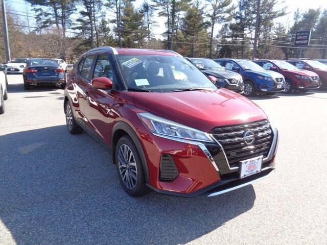 new 2021 Nissan Kicks car, priced at $23,220