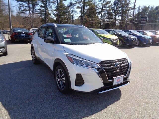 new 2021 Nissan Kicks car, priced at $23,420