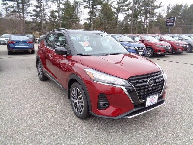 new 2021 Nissan Kicks car, priced at $24,115