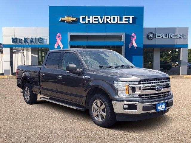 used 2018 Ford F-150 car, priced at $39,852