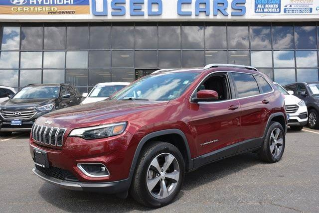 used 2019 Jeep Cherokee car, priced at $24,500