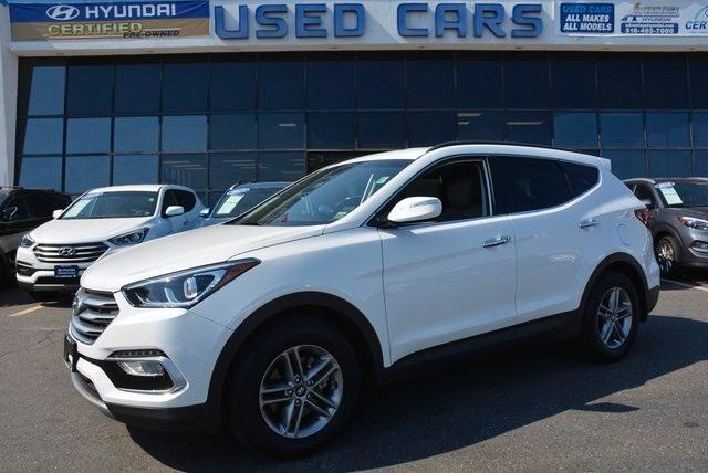used 2018 Hyundai Santa Fe Sport car, priced at $23,995