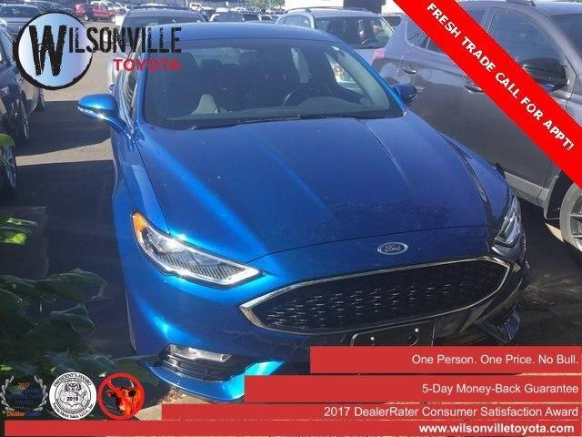 used 2017 Ford Fusion car, priced at $22,488