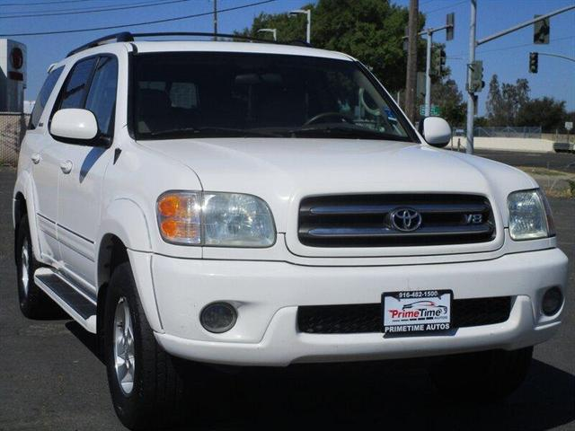 used 2002 Toyota Sequoia car, priced at $6,995