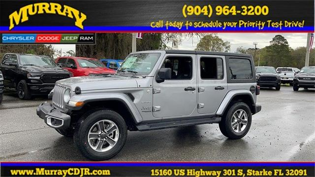 new 2021 Jeep Wrangler Unlimited car, priced at $48,655