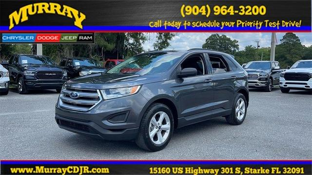 used 2018 Ford Edge car, priced at $22,387