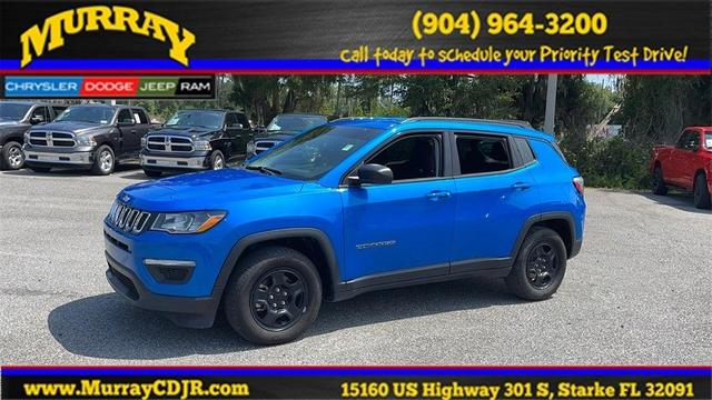 used 2019 Jeep Compass car, priced at $21,876