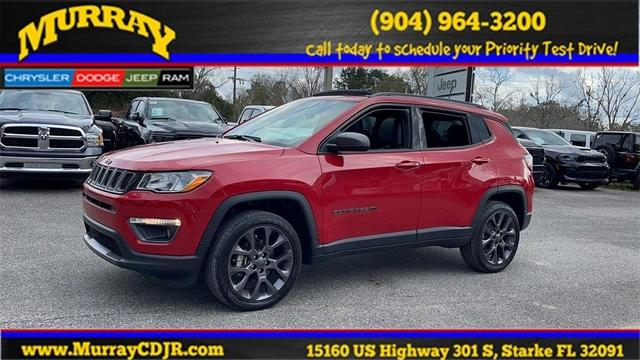 new 2021 Jeep Compass car, priced at $29,145