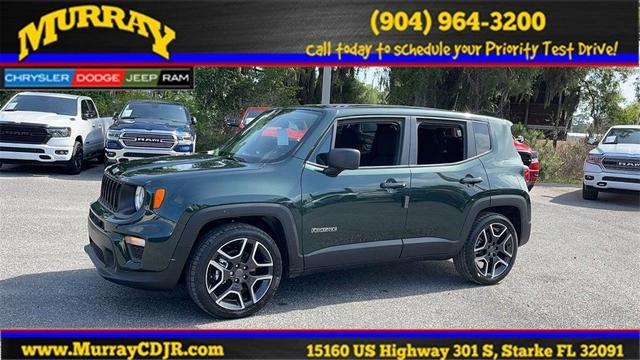 new 2021 Jeep Renegade car, priced at $24,869