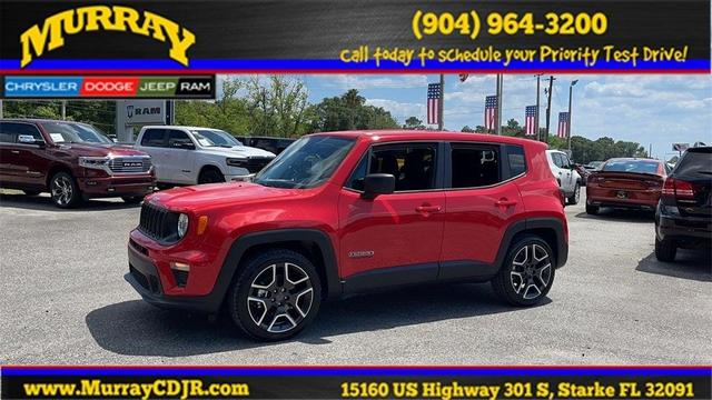 new 2021 Jeep Renegade car, priced at $25,114