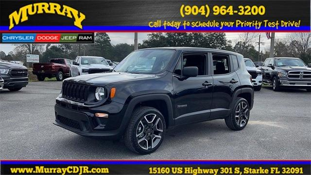 new 2021 Jeep Renegade car, priced at $23,535