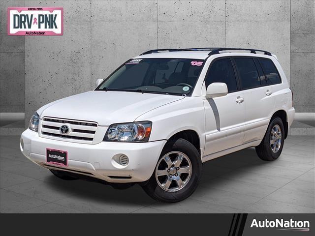 used 2005 Toyota Highlander car, priced at $8,089