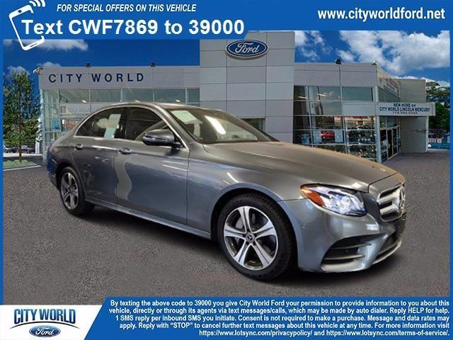 used 2017 Mercedes-Benz E-Class car, priced at $31,463