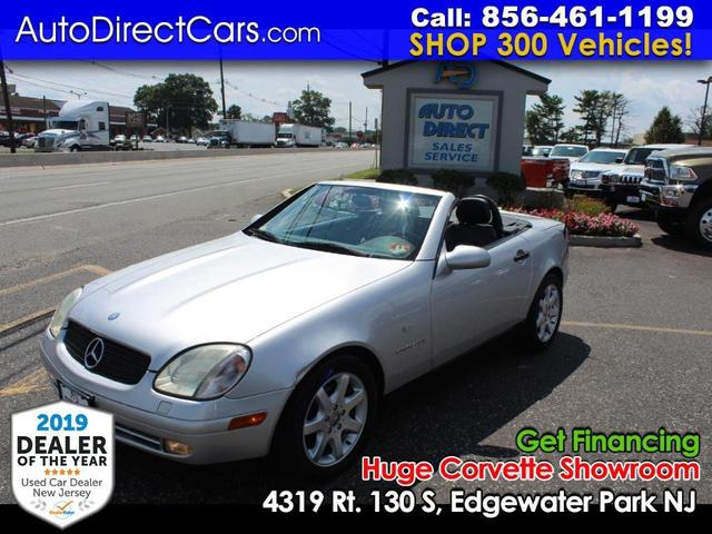used 1999 Mercedes-Benz SLK-Class car, priced at $8,490