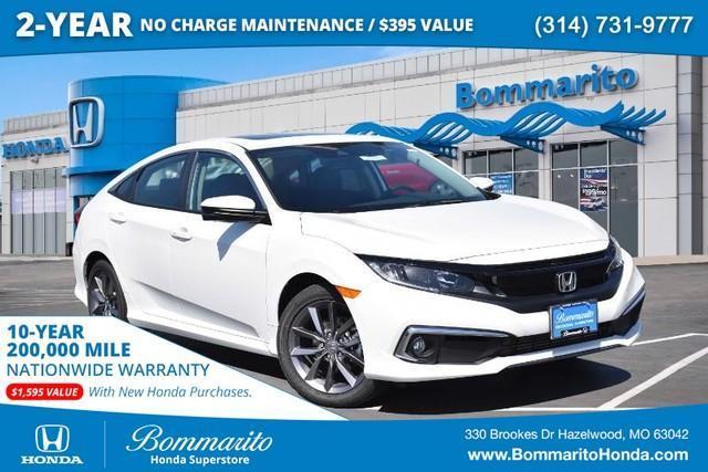 new 2021 Honda Civic car, priced at $26,750