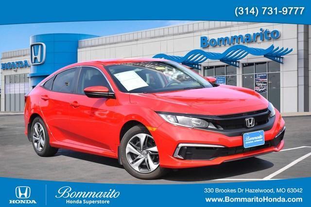 used 2019 Honda Civic car, priced at $20,990