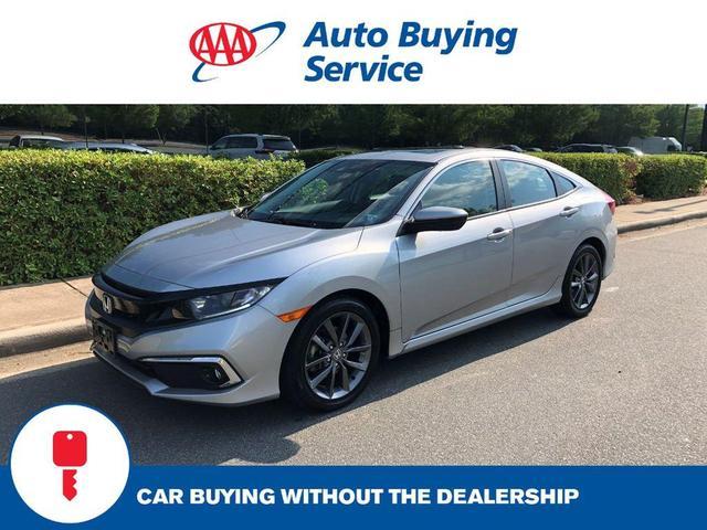 used 2020 Honda Civic car, priced at $25,977
