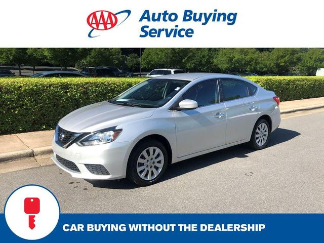 used 2017 Nissan Sentra car, priced at $14,895