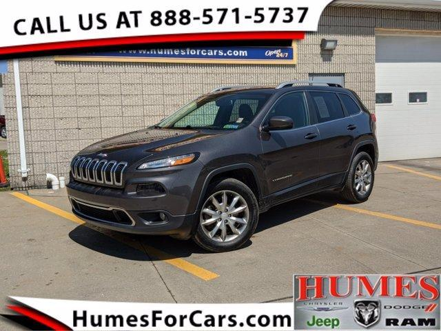 used 2018 Jeep Cherokee car, priced at $22,997